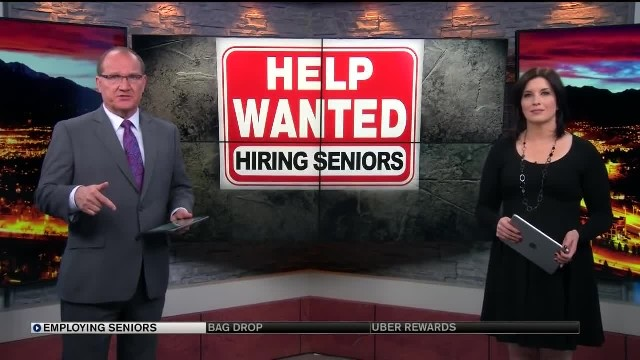 Fast food joints hiring senior citizens instead of teenagers