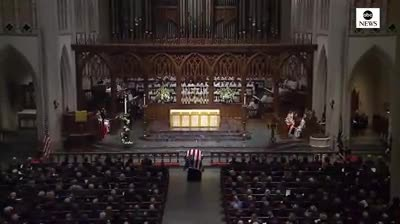 Reba McEntire Gives Moving Performance of 'The Lord's Prayer' at George H.W. Bush's Funeral