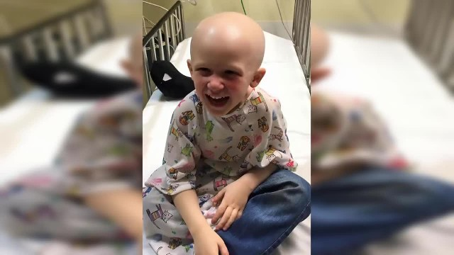 Mom says goodbye to son dying of cancer: Then he says 4 words that break her heart