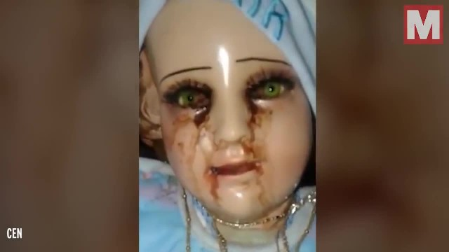 Baby Jesus statue 'cries tears of blood' and locals think it's message from God