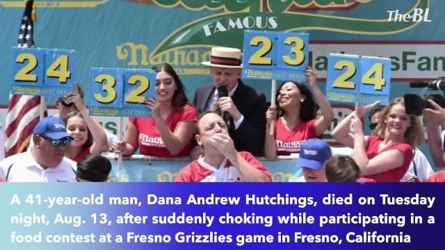 41-year-old California father of two died after choking at taco-eating contest