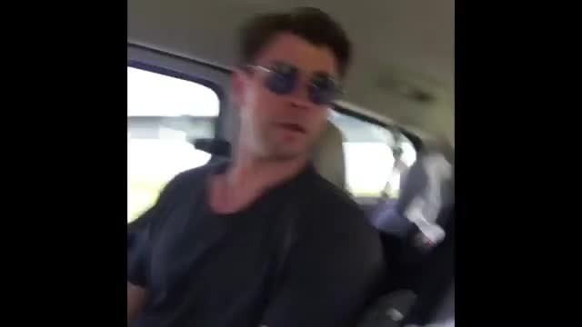 Man Hitchhikes for the First Time, Gets a Ride From Chris Hemsworth in a Helicopter
