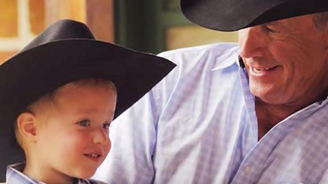 """Hear George strait sing with grandson in new single """"God & Country Music"""""""