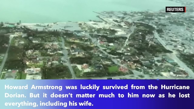 Bahamas fisherman lost everything in hurricane, including his wife- 'She just drowned on me'