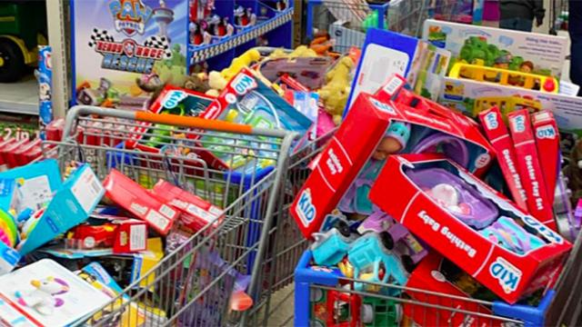 1300 children to get gifts for Christmas thanks to community
