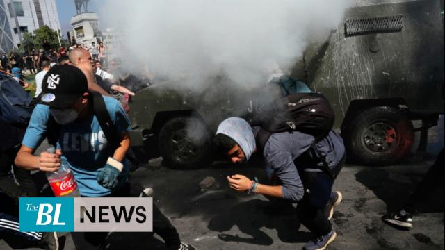 Riots leave at least 10 dead in Chile