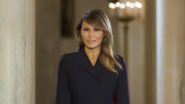 First Lady Melania Trump's message for students