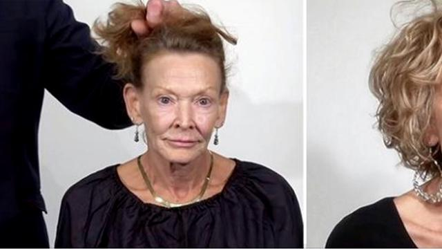 69-Year-Old Tired Of Her Worn Out Look Gets Stunning Makeover Taking 20 Years Off Her Age