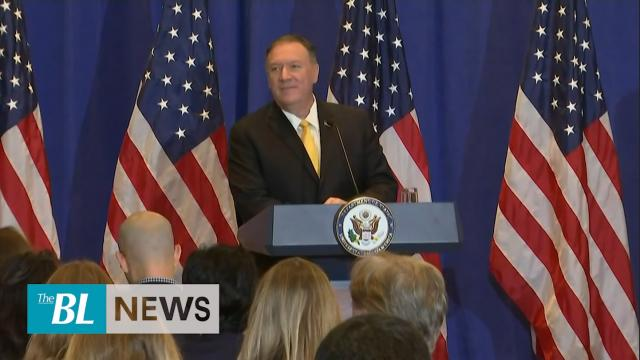 Pompeo says State Department acted appropriately with Ukraine and says Syria used chemical weapons