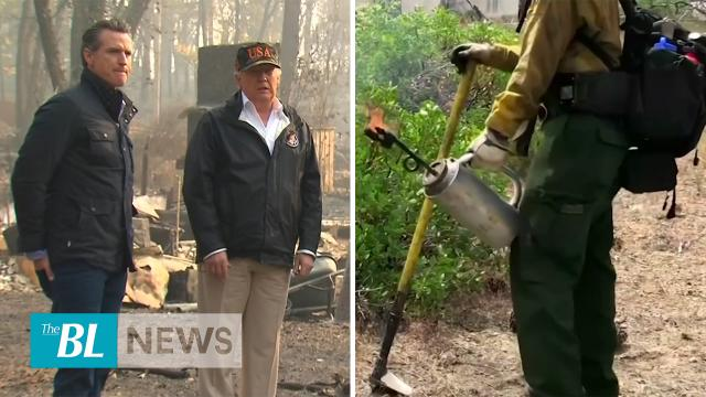 President Trump right again California now fighting Fire with Fire