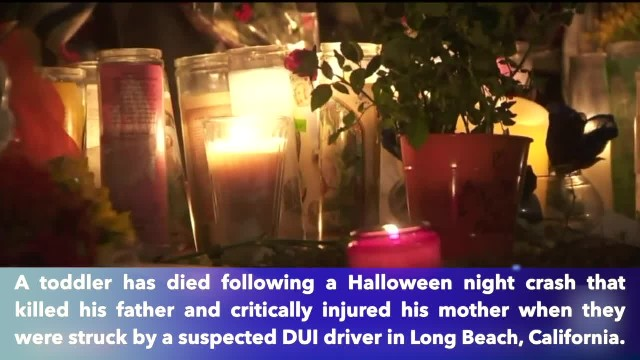 California toddler dies after Halloween night crash that killed father, injured mother; DUI suspect