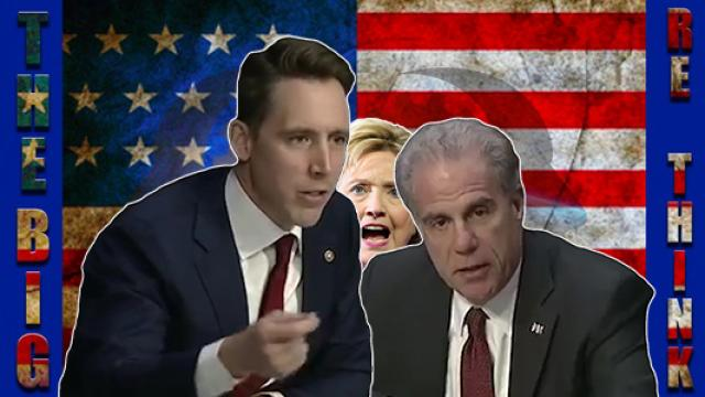 Sen Josh Hawley points out collusion between FBI and Clinton campaign