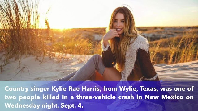 Texas country singer Kylie Rae Harris, 30, killed in New Mexico crash