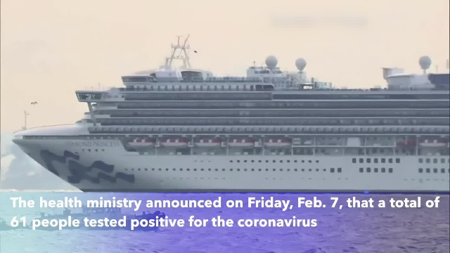 A cruise ship off Japan, carrying around 3,700 people, produced largest known cluster of coronavirus