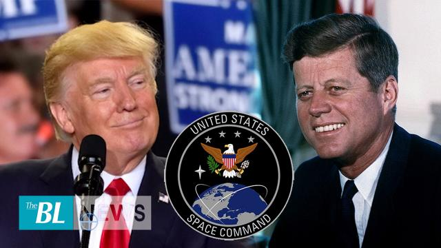 Is President Trump's new Space Command as important as President Kennedy's manned launch into space?