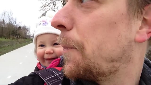Daddy Wants Baby To Say 'Papa,' Her Comeback Instead Is Going Viral On The Internet