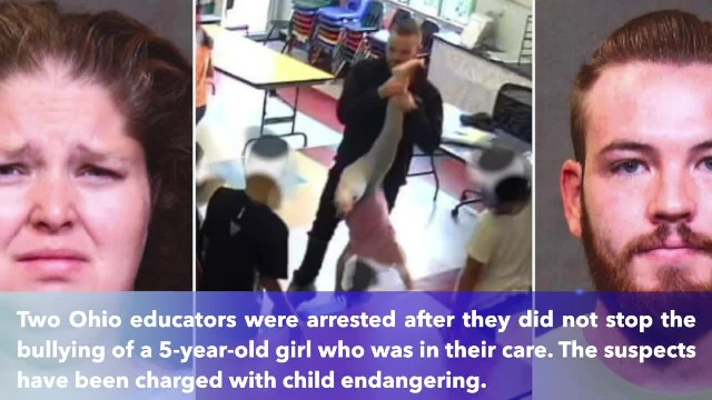 2 Ohio day care workers arrested after video shows they watch 5-year-old girl bullied by older stude