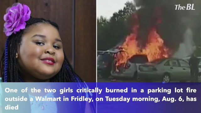 6-year-old girl dies from injuries after vehicle fire in Fridley Walmart parking lot