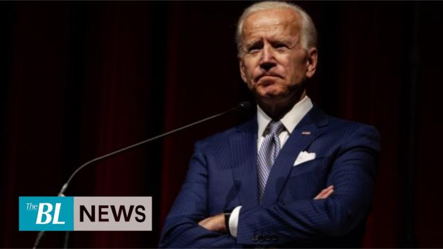 Protester called Biden a 'liar' when he was slandering President Trump during a campaign rally