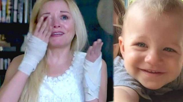 Hero nanny permanently injured while saving 2-year-old from speeding car about to run him down