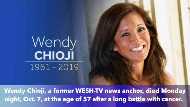 Former Florida news anchor Wendy Chioji dies after long battle with cancer