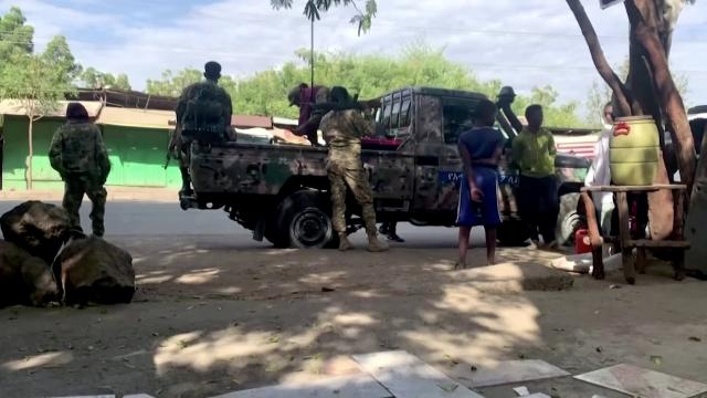Reports of mass killing in Ethiopia conflict