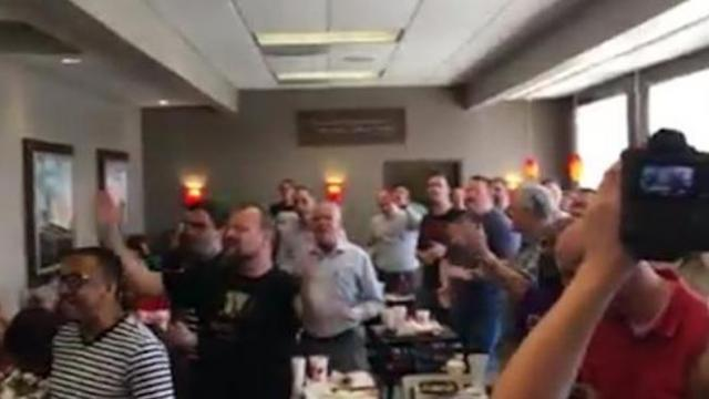 60 worship leaders break out into song in the middle of Chick-fil-A