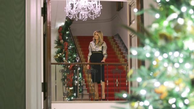 2020 Christmas decorations at the White House