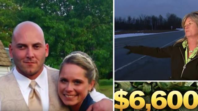 Woman finds $6,600 flying around on highway, she gives it all back to a widow