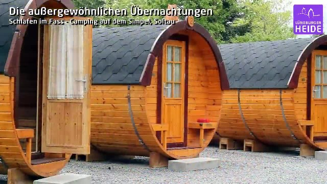This getaway in Germany lets you stay overnight in a wine barrel