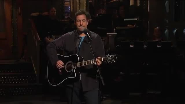 Adam Sandler Honors Chris Farley With A Touching Song On 'SNL'