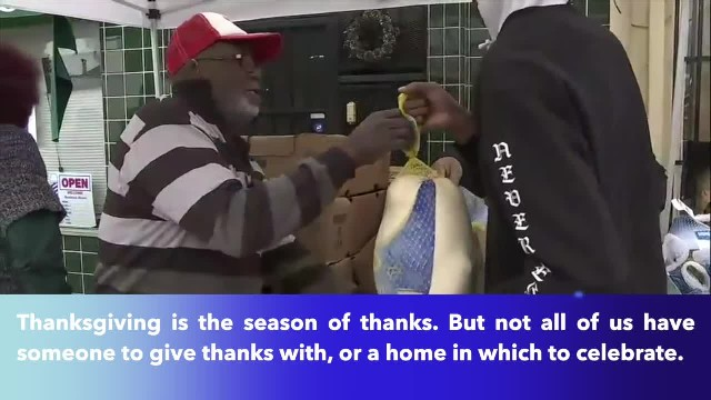 Oakland rapper Mistah F.A.B. helps those struggling ahead of Thanksgiving