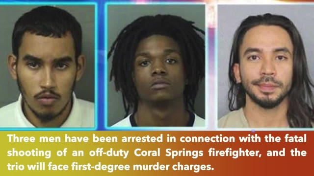 Suspects arrested in murder of off-duty Coral Springs firefighter Christopher Randazzo