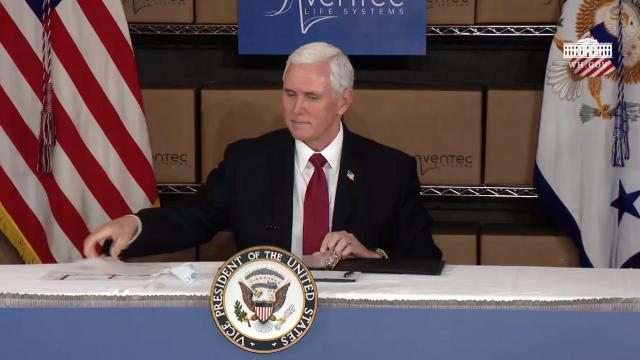 Vice President Pence holds a roundtable with general motors executives