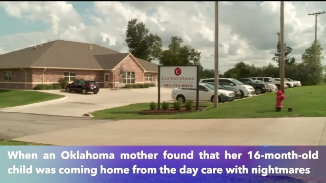 Oklahoma mother watched in horror as day care worker shove her 16-month-old's face into pillow