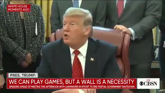 President Donald Trump turns a question around on a reporter who the couldnt answer