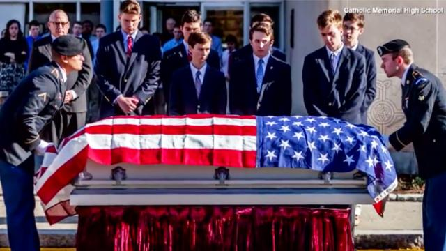 Students determined to honor homeless veteran with proper farewell