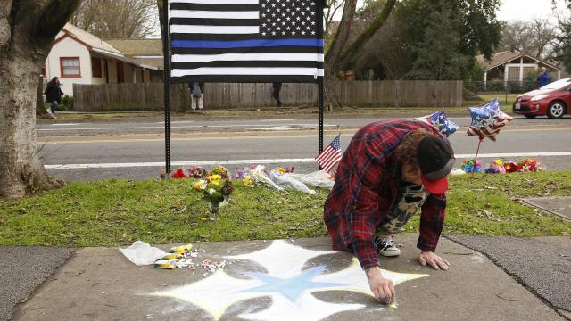 Man who killed officer said he was hit by ultrasonic waves