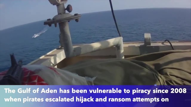 Somali pirates decide to attack American Freighter, have no idea they have trained snipers waiting