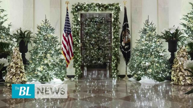 The BL news in 3 - White House unveils 2019 Christmas decorations