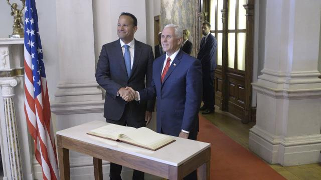 Vice President Mike Pence Visits Ireland