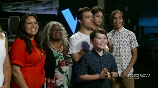 Blind Audition- Colin Lillie 'Father and Son' - The Voice Australia 2018