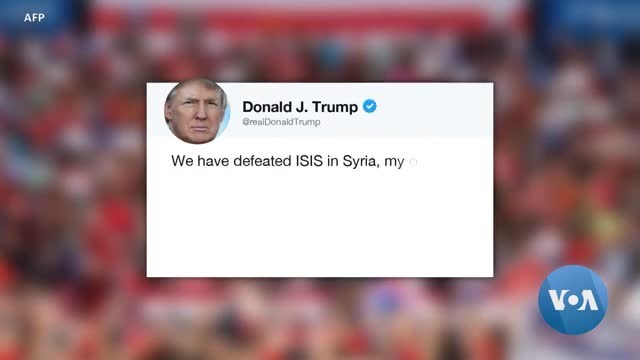 Trump Declares Victory Against Islamic State, Calls Troops Home