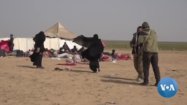 Syria Camp in Crisis as IS Families Flood In